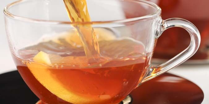Drink Rooibos tea for colds and flu