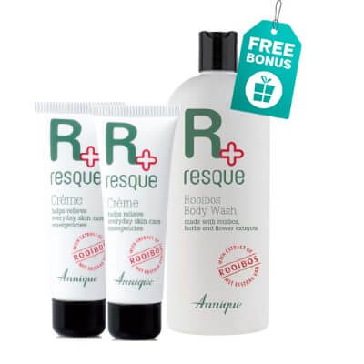 Resque Crème 30ml X 2 & Free Resque Body Wash 400ml