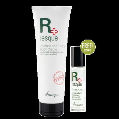 Resque Rooibos & Hemp Crème 250ml & Free Resque Essence 10ml